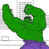 Jogos de Pintar o Hulk