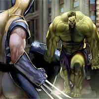 Jogos do Hulk vs Wolverine