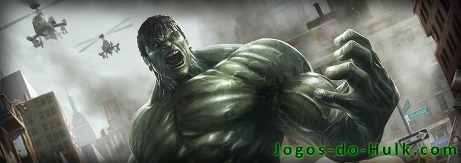 Jogos do Hulk online