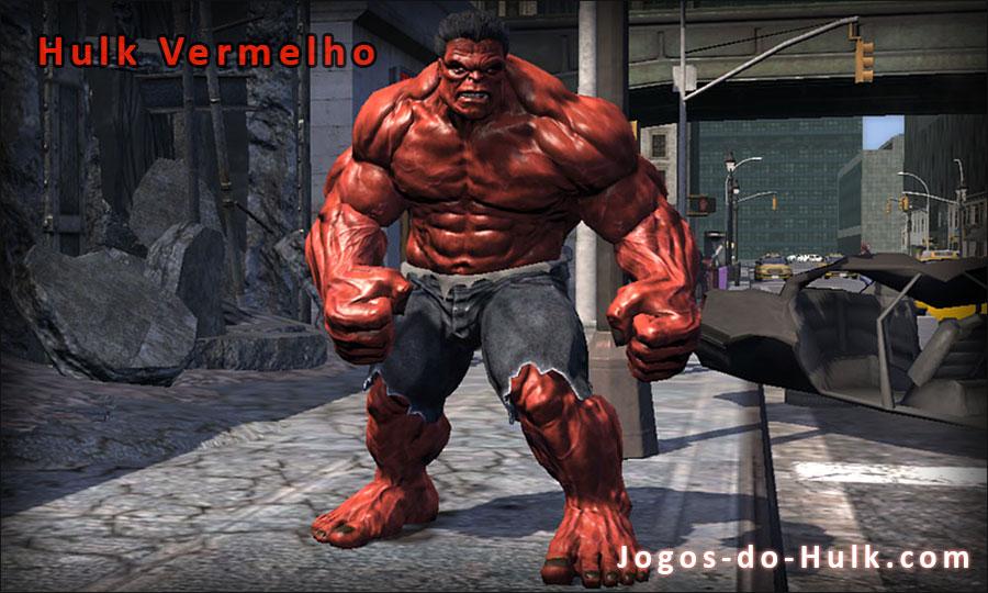 Jogos Hulk Vermelho